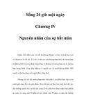 Sống 24 giờ một ngày - Chương IV
