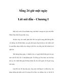 Sống 24 giờ một ngày - Lời nói đầu - Chương I