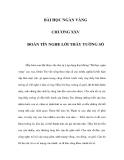 BÀI HỌC NGÀN VÀNG - CHƯƠNG XXV