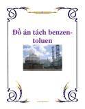 Đồ án tách benzen-toluen