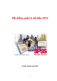 Hệ thống quản lý dữ liệu SPSS