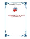 Tiểu luận: CHÍNH SÁCH ĐỐI NGOẠI CỦA VIỆT NAM VỚI ASEAN SAU NĂM 1995