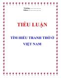 Tiểu luận: Tranh thờ ở Việt Nam