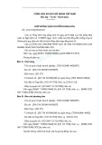 Mẫu hợp đồng vận chuyển hàng hoá - Mẫu số 2