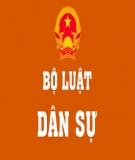 Câu hỏi thảo luận Luật dân sự: Khái niệm chung luật dân sự Việt Nam