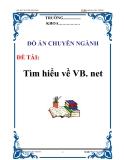 """Đồ án: """"Tìm hiểu về VB. net"""""""