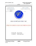 Báo cáo thực tập : Quản trị nhân sự tại công ty cổ phần luyện cán thép Gia Sàng