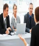 Phỏng vấn tuyển dụng: hiểu tâm lý ứng viên