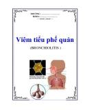 Bệnh Viêm tiểu phế quản (BRONCHIOLITIS )