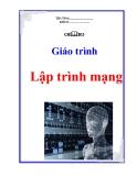 Bài giảng môn học  lập trình mạng - Lê Anh Tú
