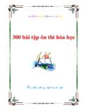 300 bài tập ôn thi hóa học