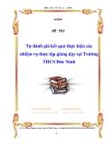 """Báo cáo """" Tự đánh giá kết quả thực hiện các nhiệm vụ thực tập giảng dạy tại Trường THCS Đức Ninh """""""