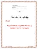 Báo cáo thực tập: Quy Trình Xuất Nhập Khẩu Tại công ty TNHH DV GN VC TM Siêu Kỷ