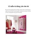 12 mẫu tủ đáng yêu cho bé