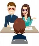 Trình tự một cuộc phỏng vấn tuyển dụng ứng viên