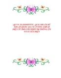 QCVN 18:2010/BTTTT   QUY CHUẨN KỸ THUẬT QUỐC GIA VỀ TƯƠNG THÍCH ĐIỆN TỪ ĐỐI VỚI THIẾT BỊ THÔNG TIN VÔ TUYẾN ĐIỆN