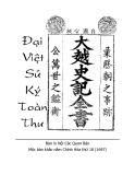 Ebook Đại Việt sử ký toàn thư - Lê Văn Hưu, Phan Phu Tiên, Ngô Sĩ Liên (Soạn giả)