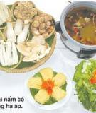 Một số món ăn chữa bệnh cao huyết áp