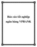 Báo cáo tốt nghiệp: Hoạt động cho vay tiêu dùng tại ngân hàng VPBANK PGD quận 10