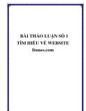 TÌM HIỂU VỀ Itunes.com