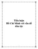 Tiểu luận: Hồ Chí Minh với vấn đề dân tộc