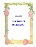Giáo trình access 2003