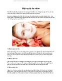 Cách làm nhiều mặt nạ trị da nhờn