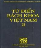 từ điển bách khoa việt nam (tập 2): phần 9 - nxb từ điển bách khoa