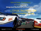 Advertising, Promotion and other aspects of integrated marketing communication