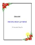 Giáo trình Phương Pháp Lập Trình