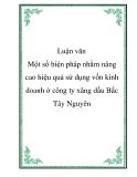 Luận văn - Phân tích tình hình tài chính công ty cổ phần Sao Việt