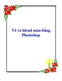 Vẽ và blend màu bằng Photoshop