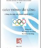 Giáo trình Cầu lông (Dùng cho sinh viên chuyên ngành GDTC)