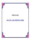 TIỂU LUẬN VỀ MATLAB SIMULINK