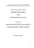 Báo cáo tổng hợp: Thử nghiệm thương mại điện tử trong kinh doanh một số dịch vụ du lịch