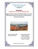 Đề tài: ĐÁNH GIÁ TÁC ĐỘNG MÔI TRƯỜNG DỰ ÁN NHÀ MÁY GẠCH TUYNEN SỐ 3 THUỘC XÃ THỦY PHƯƠNG, HUYỆN THỦY PHONG