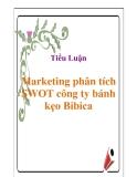 Tiểu luận: Marketing phân tích SWOT công ty bánh kẹo Bibica