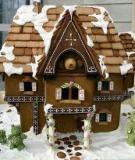 Ngôi nhà bánh gừng nhỏ xinh