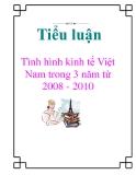 Tiểu luận: Tình hình kinh tế Việt Nam trong 3 năm từ 2008 - 2010
