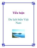 Tiểu luận: Du lịch biển Việt Nam