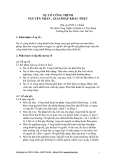 SỰ CỐ CÔNG TRÌNH NGUYÊN NHÂN, GIẢI PHÁP KHẮC PHỤC