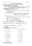 Tài liệu ôn thi đại học năm 2010 - 2011 môn toán