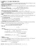 Tài liệu ôn thi vật lý lớp 10