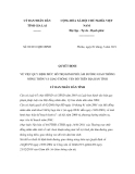 Quyết định số  02/2011/QĐ-UBND