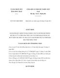 Quyết định số 03/2011/QĐ-UBND