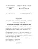 Quyết định số 1051/QĐ-BNN-TCTS