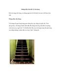 Những điều cần biết về cầu thang