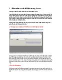 Bảo mật cơ sở dữ liệu trong Access