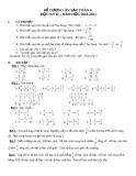 Đề cương ôn tập toán 6