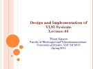 Design and Implementation of VLSI Systems_Lecture 03: Cmos Fabrication